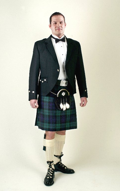 Formal Daywear Kilt rental outfit