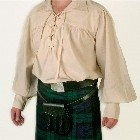Scottish Jacobite Highland Shirt