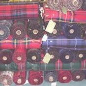 16 oz Strome Weight Scottish Tartan single Width