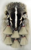 Badger Full Mask 6 Tassel Chrome Sporran