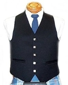 formal five button vest