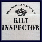 Her Majesty's National Kilt Inspector Tee Shirt