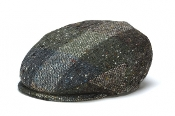 Vintage Flat Cap in Heather Green