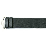 Grained Leather Kilt Belt