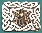 IRISH KILT BUCKLE