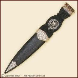 Scottish Clan Crest Sgian Dubh