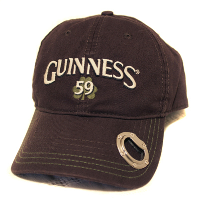 Guinness Chocolate Shamrock Opener Cap