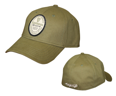 Guinness Olive Green Label BB Cap