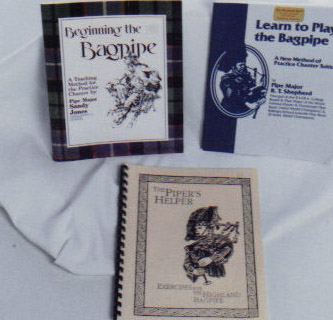 learn to play the bagpipes book