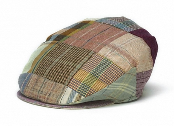 Linen Tailor Cap in Patch Toning