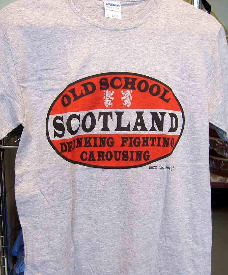 Old School Scotland Tee Shirt