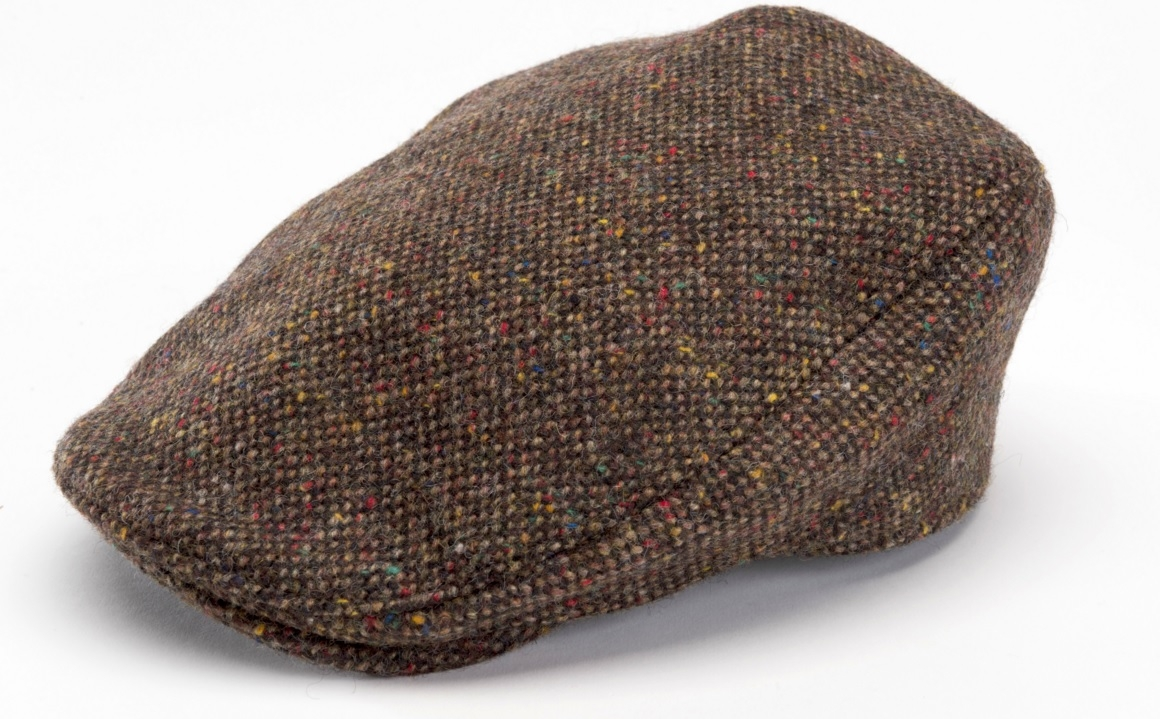 Donegal Touring Cap Brown Tweed