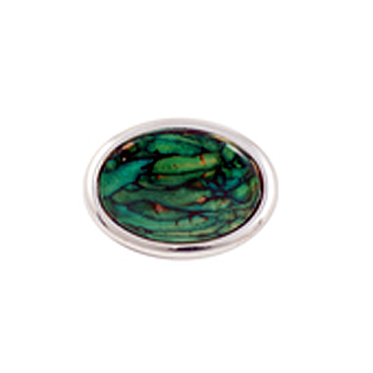 HeatherGems Oval Brooch