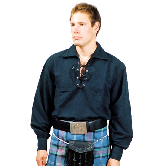 Scottish Highlander Jacobite style Shirt