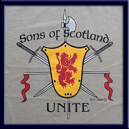 "Sons of Scotland ""Unite"" T Shirt"