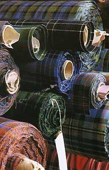 Lochcarron 13oz Braeriach Weight Scottish Tartan Fabric