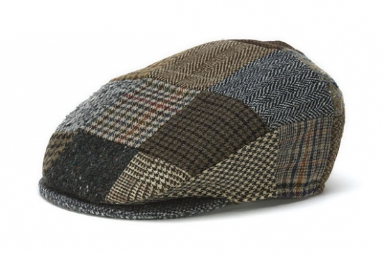 Vintage Patch Flat Cap
