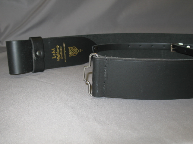 Kilt Belt without Buckle 2.25 inch