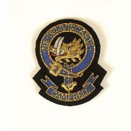 Scottish Clan Crest Blazer Badge