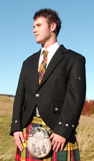 Complete 16oz Kilt and Argyle Jacket outfit