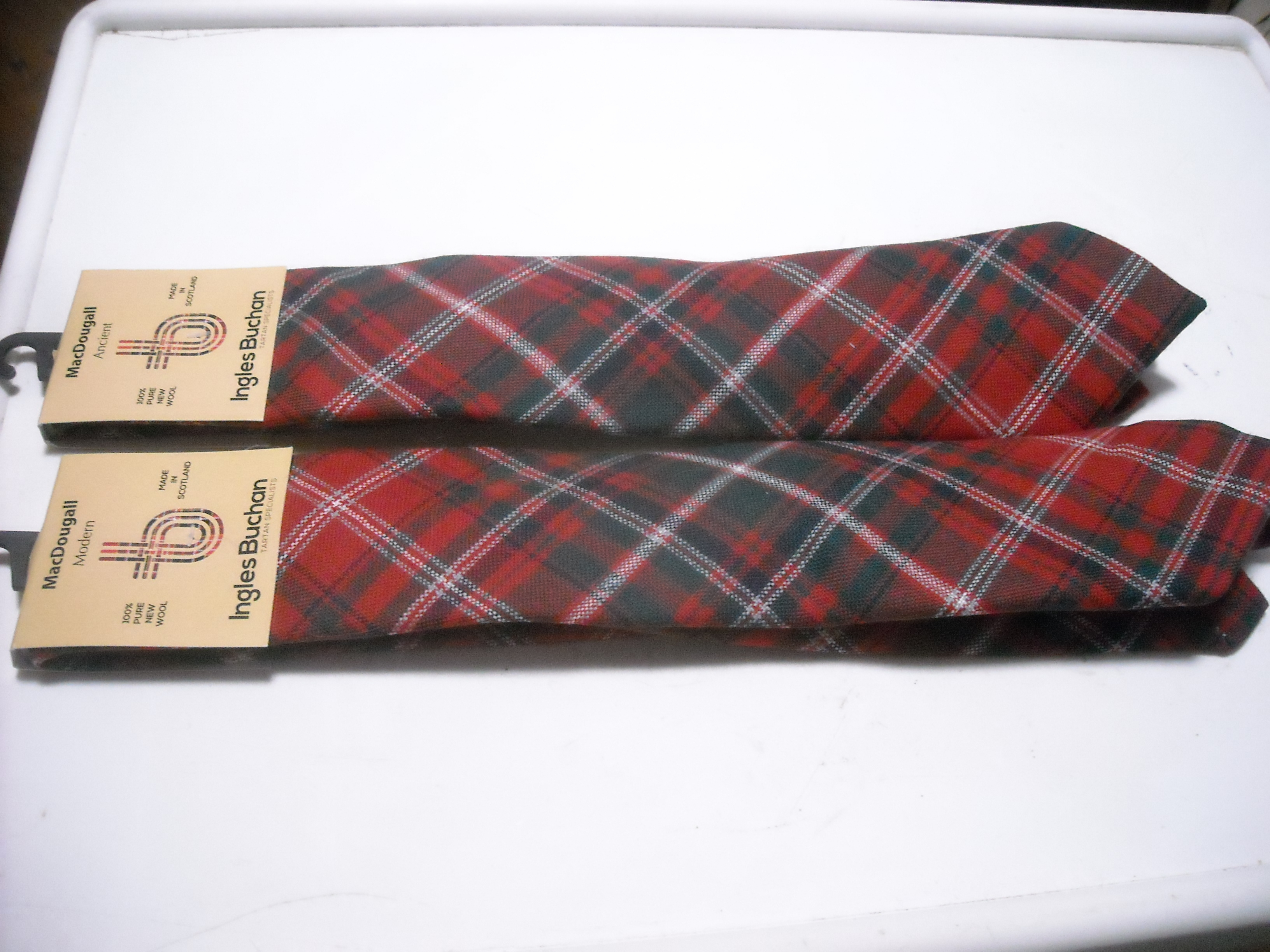 Two MacDougall adult neckties