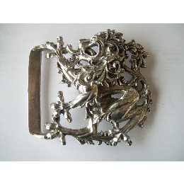 Baroque Lion Kilt Belt Buckle