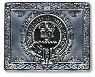Scottish Clan Crest kilt Belt Buckle, by Gaelic Themes