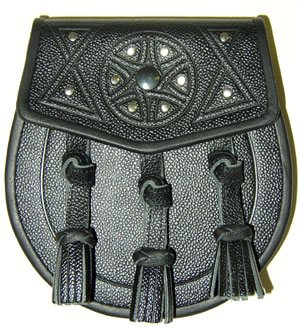 """Falkirk"" Celtic Embossed Sporran"