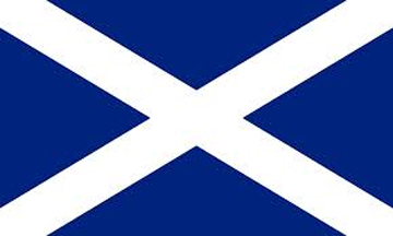 St. Andrews Cross, Saltire Flag