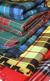 Irish Tartan Fabric